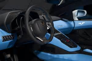 Interior Lamborghini Aventador Lamborghini Aventador Lp 700 4 Nazionale Revealed At