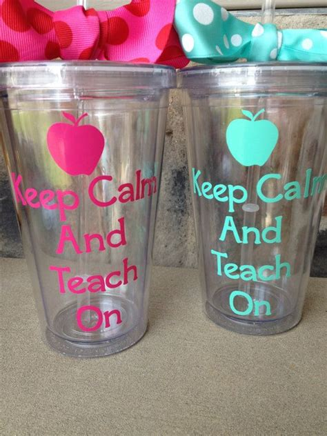 printable vinyl on tumblers 230 best images about gifts for teachers on pinterest