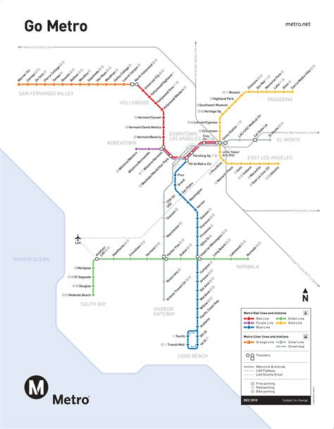 La Metro System Map by Chicago Transit Vs Los Angeles Transit Cta Concerns