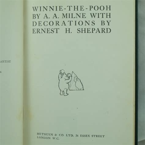the extraordinary of a a milne books and antique books