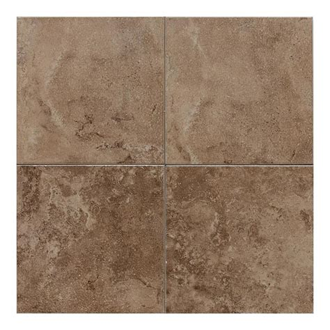 lowes porcelain tile shop american olean pozzalo 50 pack weathered noce ceramic wall tile common 6 in x 6 in