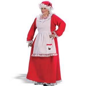 mrs claus plus adult costume holiday costumes in