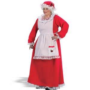 Details about mrs claus christmas santa plus size ladies costume