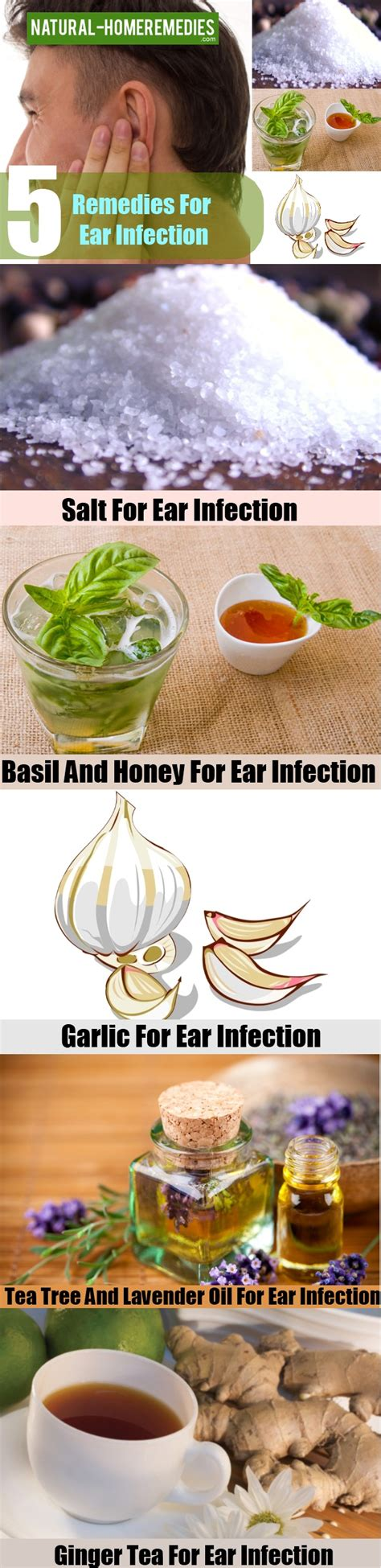 5 home remedy for ear infection treatment cure