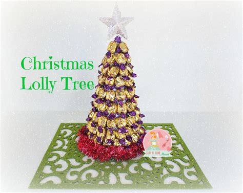 christmas lolly tree stay at home mum