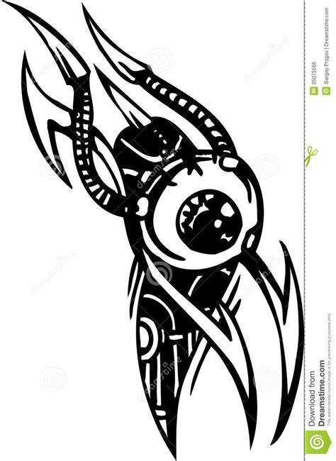 biomechanical tattoo designs free download biomechanical designs vector illustration royalty free