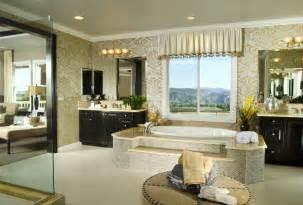 Master Bathroom Tub Ideas by 24 Luxury Master Bathroom Designs With Centered Soaking Tubs