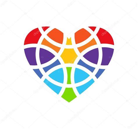 clipart cuore logo colorato cuore disegno di marchio cuore