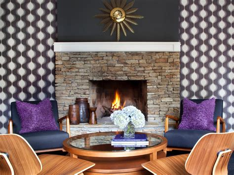 fireplace in dining room instead of living room set in stone designer brian patrick flynn certainly knows