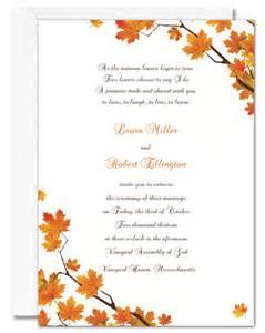 wedding invitation wording wedding invitation wording autumn