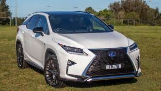 2016 lexus rx 450h f sport review road test carsguide