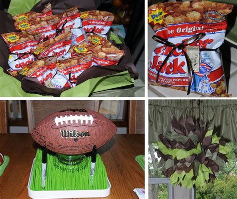 football themed baby shower decorations bubbi and boo football baby shower