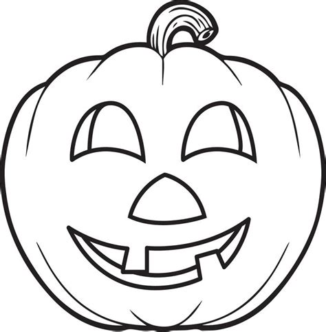 coloring pictures of scary pumpkins free printable pumpkin coloring page for kids 5