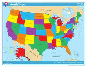 a picture of a map of the united states giz images united states map