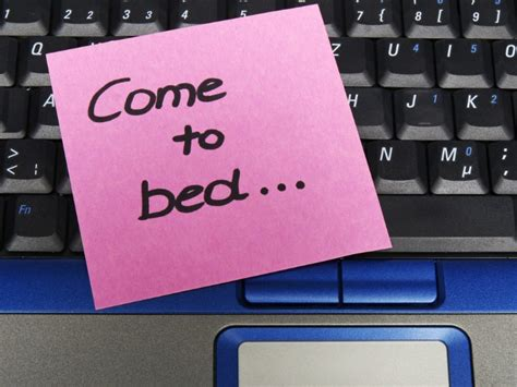 come to bed 9 subtle not so subtle ways to remind your partner you