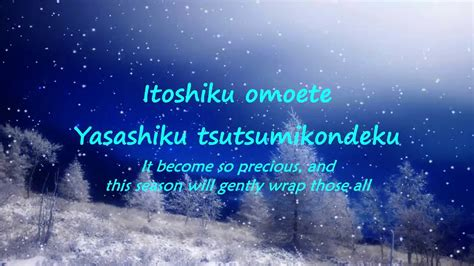 aimer everlasting snow lyrics english aimer everlasting snow lyrics youtube