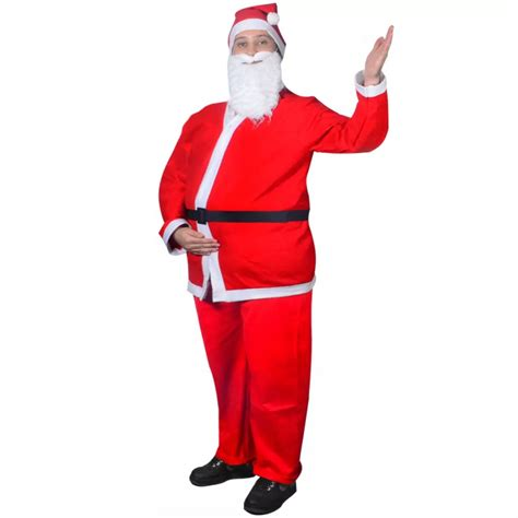 vidaxl co uk santa claus christmas costume suits set