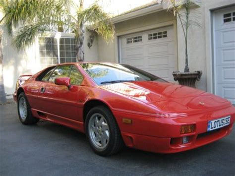 how to sell used cars 1989 lotus esprit windshield wipe control find used 9 239 original miles 1989 lotus esprit se turbo in el sobrante california united