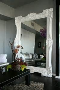 Large White Bedroom Mirrors Fancy White Frame Wall Mirrors For Living Room False