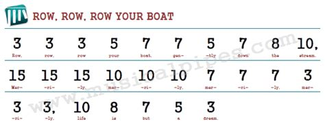 row your own boat book row row row your boat pipe chime music musical pipes