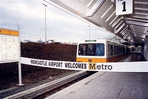 By Metro Newcastle Airport   bbc in pictures 30 years of the tyne and wear metro