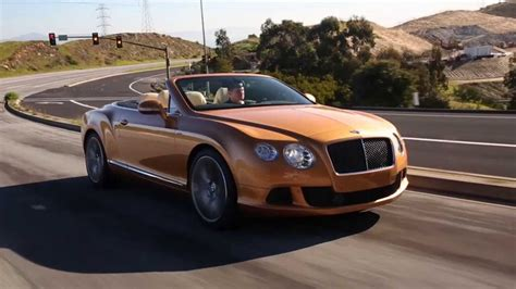 Bentley Continental Gt Speed Convertible Sunburst Gold