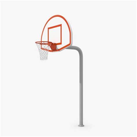 basketball hoop backyard 3d model outdoor basketball hoop