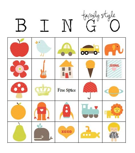picture bingo card template 49 printable bingo card templates tip junkie