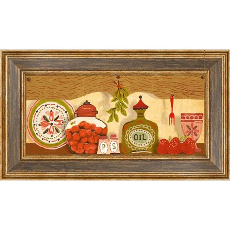 18 5 in x 10 5 in quot kitchen shelf a quot framed wall 1