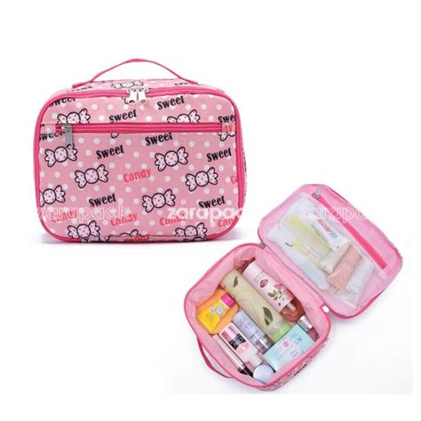 New Korean Pattern Toiletry Pouch For Travel popular toiletry bag buy cheap toiletry bag lots