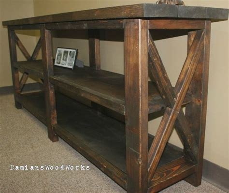 6 foot wide sofa table 6 foot handcrafted farmhouse console sofa table solid