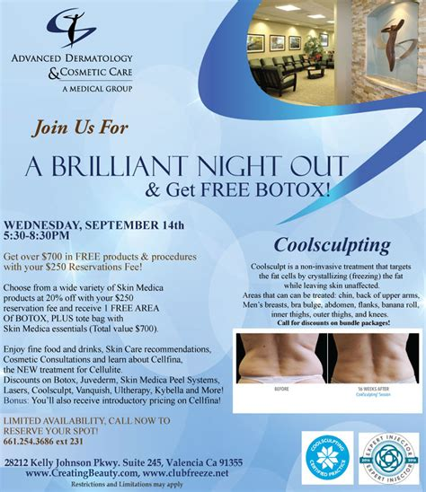 dermatology events valencia ca skin care seminars santa