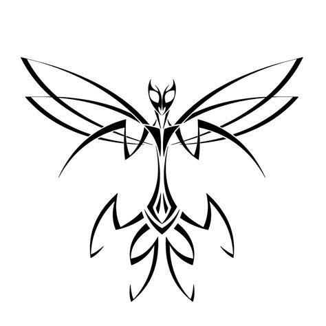 praying mantis tattoo tribal mantis design for and tatoo