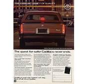 Cadillac Fleetwood  Vintage Car Ads