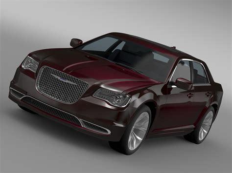chrysler 300 models chrysler 300 limited lx2 2016 3d model vehicles 3d models