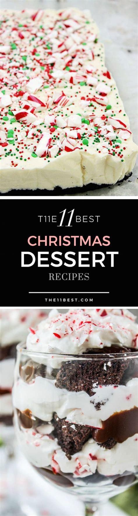 the best homemade christmas dessert recipes dessert