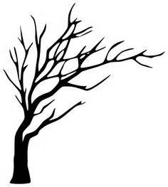 bare tree outline free coloring pages art coloring pages