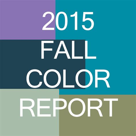 fall color report fall s colors from pantone
