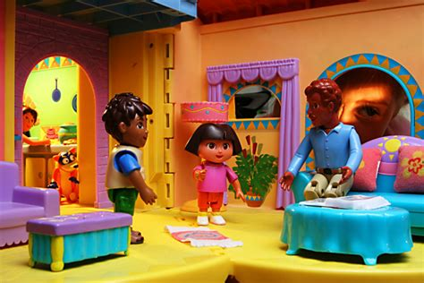 dora doll house dora dollhouse by sting11165 dpchallenge