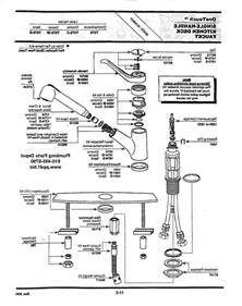 moen kitchen faucet parts breakdown kitchen moen kitchen faucet parts intended for
