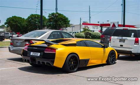 Lamborghini Tx Lamborghini Murcielago Spotted In Houston On 05 18 2013