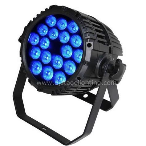 18x10w Rgbw 4in1 Led Par Can Waterproof Ip65 For Sale With Led Par Light Bulbs