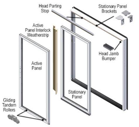 sliding screen door stop 200 series perma shield patio door parts accessories