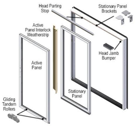 Patio Door Replacement Parts by 200 Series Perma Shield Patio Door Parts Accessories