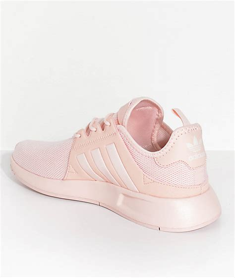 adidas youth xplorer icey pink shoes zumiez
