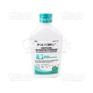 Obat Asam Lambung Polycrol jual beli polycrol 400 gel syr 100ml k24klik