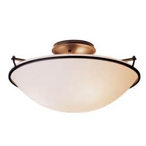 Large Flush Ceiling Lights Buy The Plain Semi Flush Ceiling Light Large
