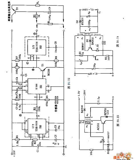 5v 12v power supply circuit diagram the 5v 12v and 15v dc converter circuit power supply