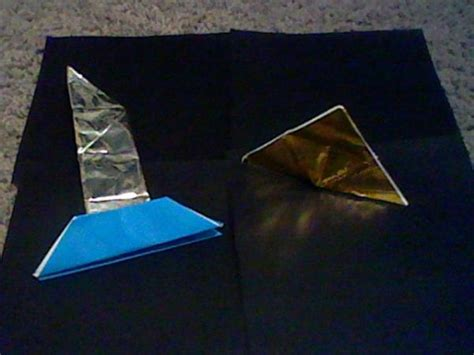 Origami Legend - origami master sword and triforce origami yoda