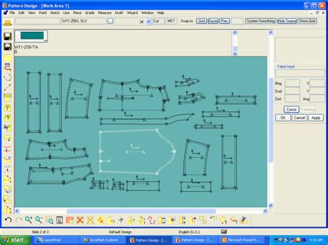 stylecad pattern grading marking software pattern design by paromita das clothing designer at